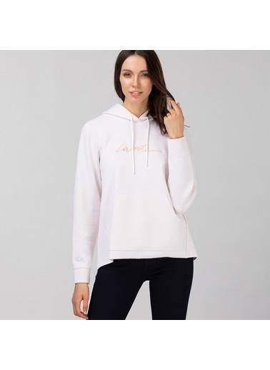 Lacoste Kadın Kapüşonlu Sweatshirt SF0112.12P Pembe